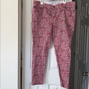 Eloqui patterned skinny jean